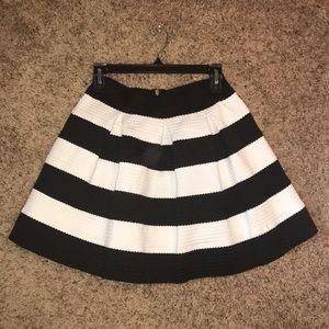 Gianni Bini Skirts - Boutique Black & White Skirt